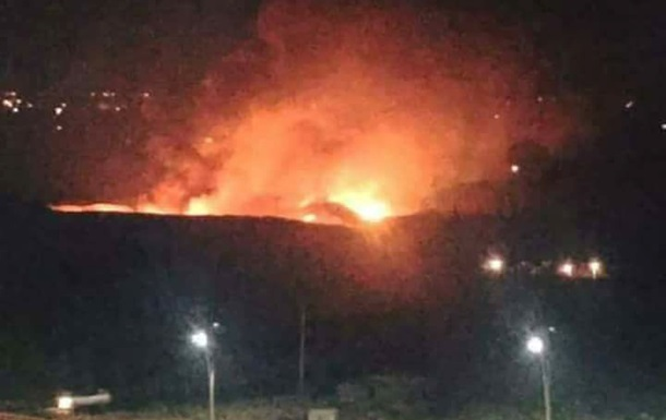 Наавиабазе вДамаске случилось несколько взрывов