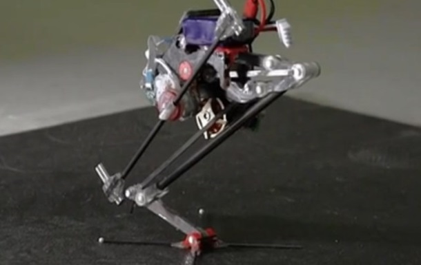 В США создали робота-паркурщика