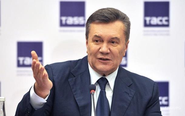 Швейцария продлила нагод арест активов Януковича