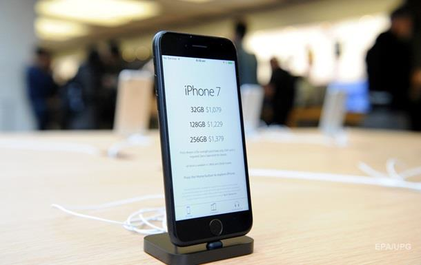 Наиболее востребованным телефоном в 2016г признан iPhone 7