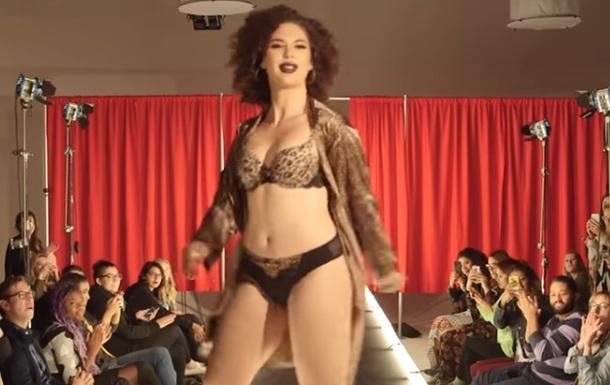 Шоу Victoria's Secret внижнем белье воссоздали обычные женщины