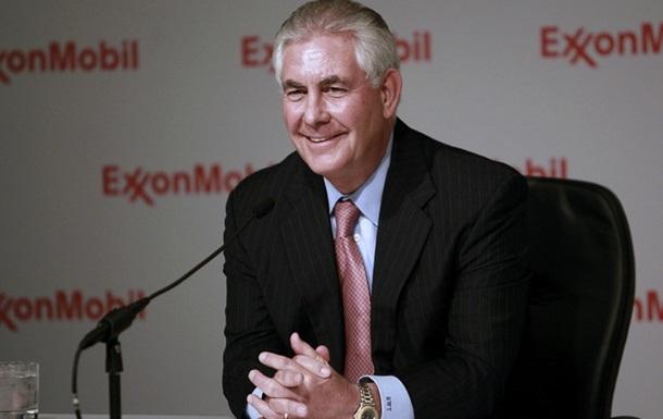 Тиллерсон объявил о выходе из ExxonMobil