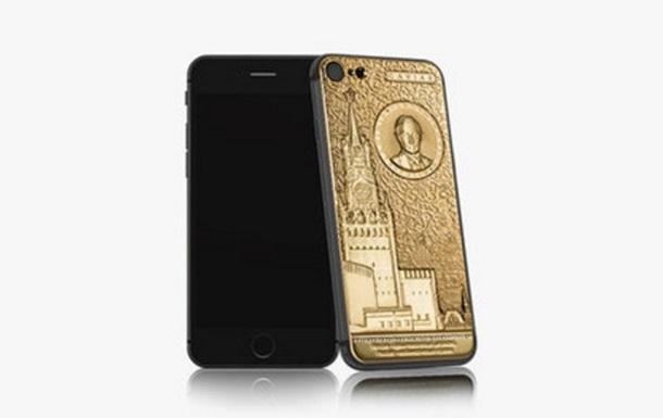 ВРФ создали золотой смартфон вчесть В. Путина стоимостью $4,9 тыс.