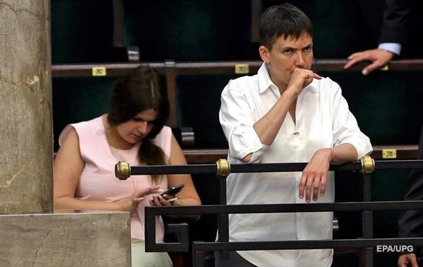«Батькивщина» исключила Савченко из собственной фракции