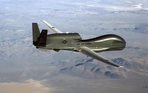 Дрон ВВС США провел разведку улинии разграничения вДонбассе