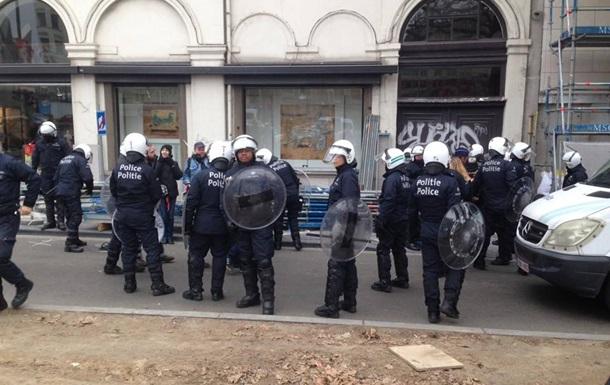 ВБрюсселе антифашистский протест перерос вмассовые беспорядки