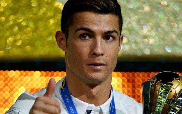 Роналду будет признан игроком года поверсии ФИФА