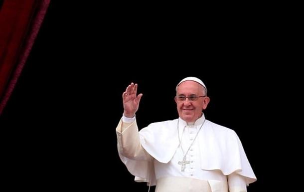 Папа Римский отправит украинцам шесть миллионов евро