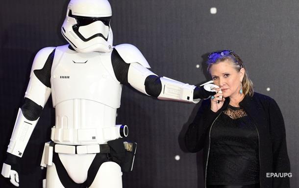 У актрисы из Звездных войн случился сердечный приступ