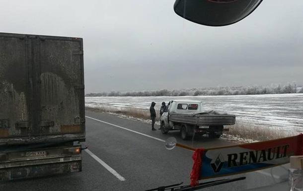 Пробка на20 км: под Одессой вДТП попали сразу 10 авто