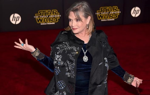 Умерла принцесса Лея из Звездных войн