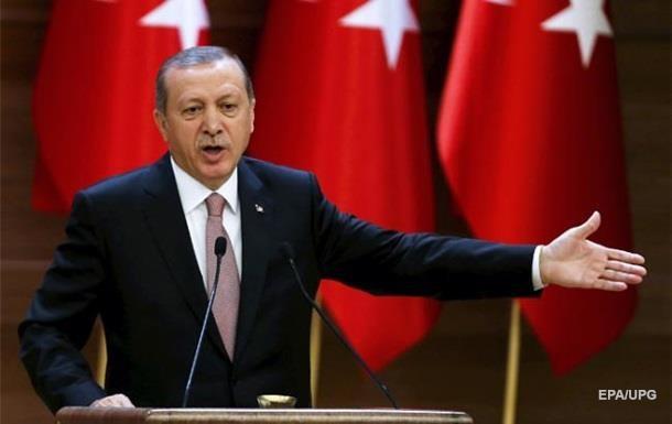 Эрдоган объявил , что имеет свидетельства  поддержкиИГ коалицией США