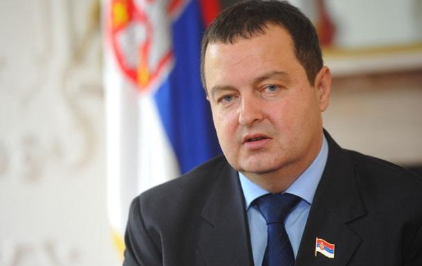 Сербия - Украине: Не нужно читать нам лекции