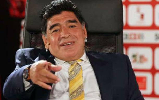 "Марадона: «Игуаин? Президент ""Наполи"" реализовалбы исвою жену»"