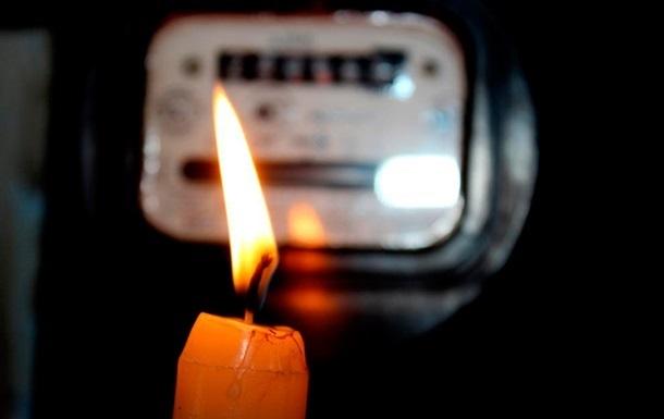 В Крыму начались массовые отключения электричества