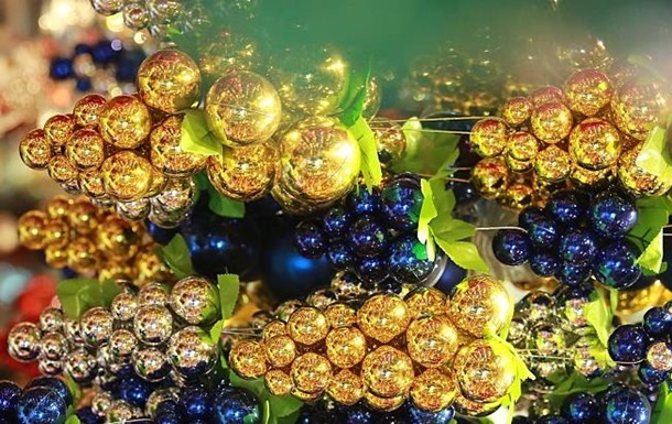 Украина экспортировала рекордное количество елочных игрушек