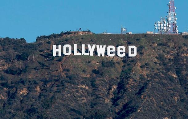 Легендарная надпись «Hollywood» вЛос-Анджелесе была подкорректирована любителями марихуаны