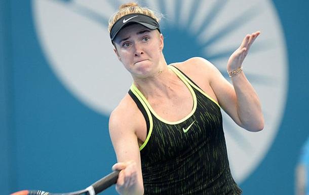 Украинка Свитолина натурнире вАвстралии обыграла олимпийскую чемпионку