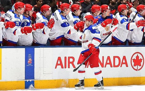 РФ одолела Данию ивышла вполуфинал МЧМ