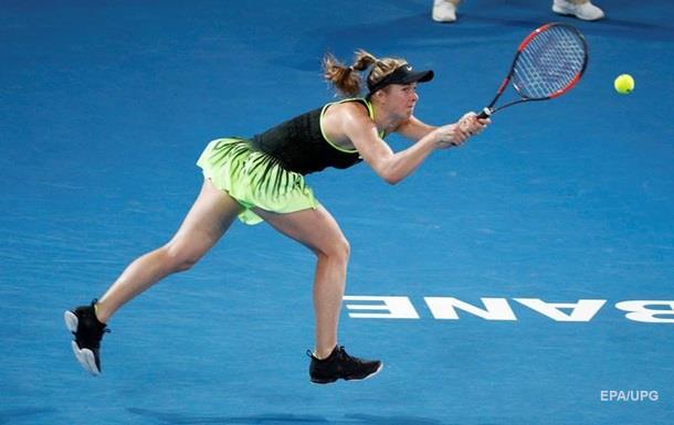 Теннисистка Э.Свитолина встретится спервой ракеткой мира А.Кербер