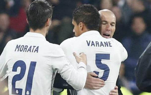 «Реал» разгромил «Севилью» впервом матче 1/8 финала Кубка Испании пофутболу