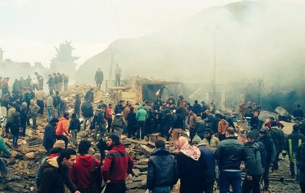 Неменее 60 человек погибли в итоге взрыва насевере Сирии