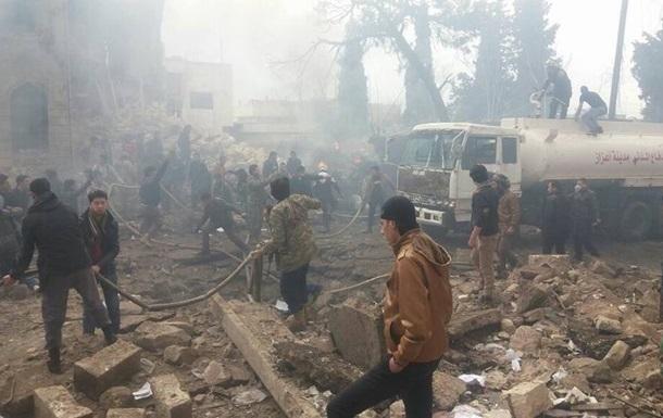 Насевере Сирии произошел взрыв, погибли 25 человек