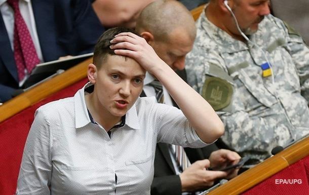 Савченко планирует разместить списки пленных украинских силовиков