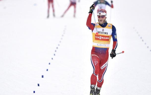 Сергей Устюгов прервал суперсерию побед налыжном «Тур дески», взяв серебро