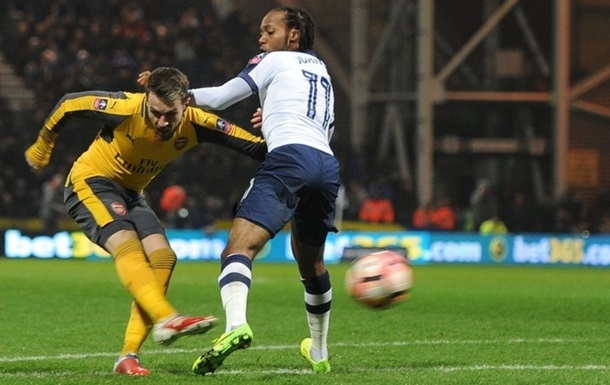 «Арсенал» одержал волевую победу над «Престоном» в1/32 финала Кубка Британии