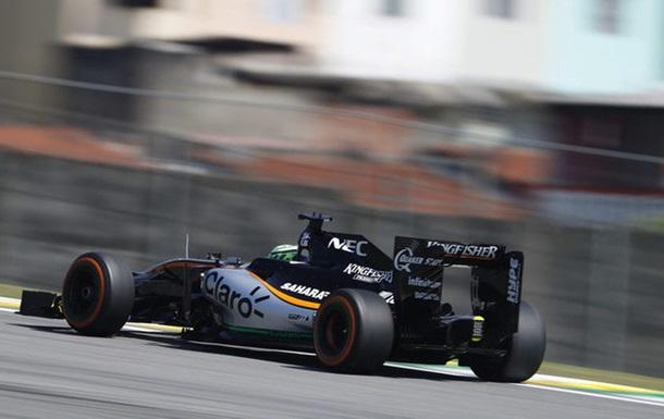 Формула-1. Новая машина Форс Индии прошла краш-тесты
