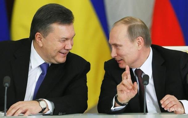 Путин тайно встретился с Януковичем