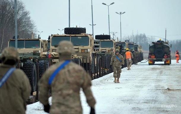 В Польшу прибыли еще 300 американских солдат