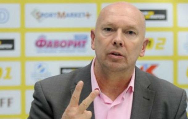 Голландский тренер покинул Сталь изКаменского