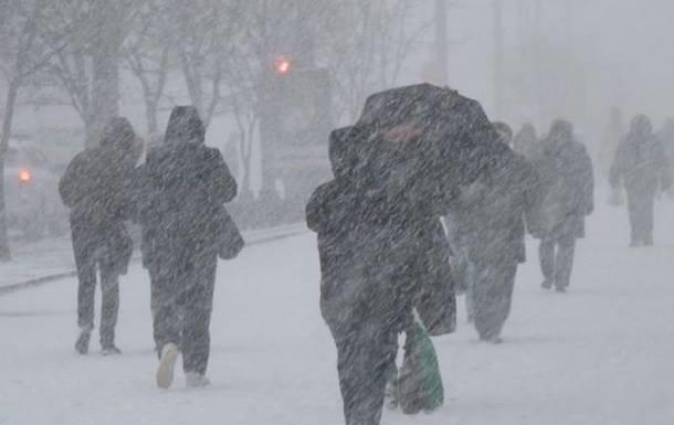 Украинцев предупредили о новых снегопадах