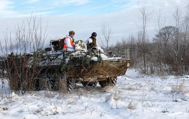 Сутки в АТО: погиб один военный