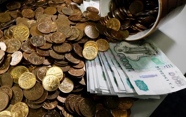 У РФ зросла кількість банкрутів і  білих зарплат