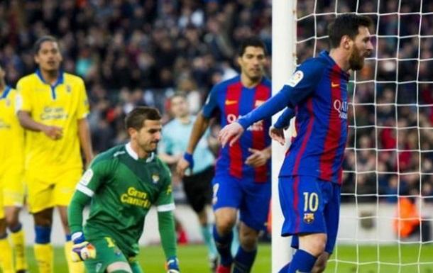«Барселона» разбила «Лас-Пальмас»
