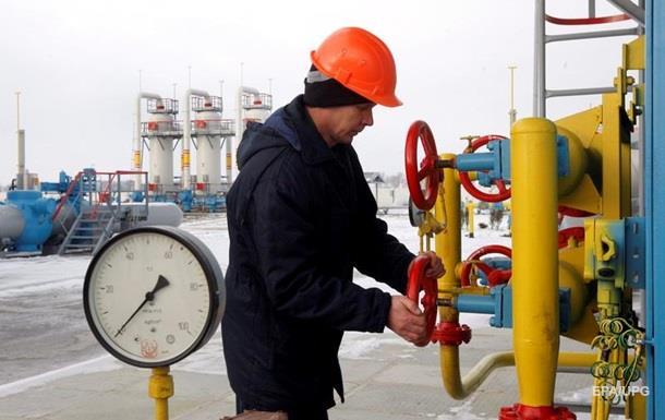 Украина сократила запасы газа в ПХГ на 25%