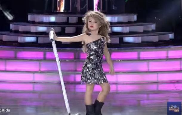 Семилетняя Тейлор Свифт покорила Сеть