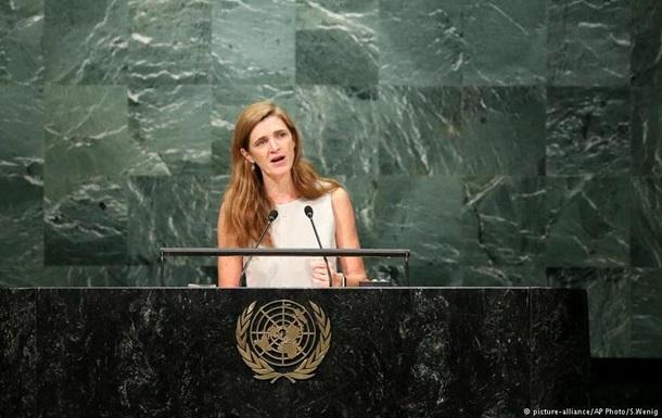 Постпред США при ООН сообщила, что санкции вотношении Российской Федерации необходимо сохранить
