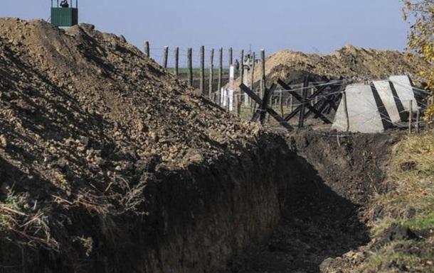 НаХарьковщине остановили строительство «Стены»