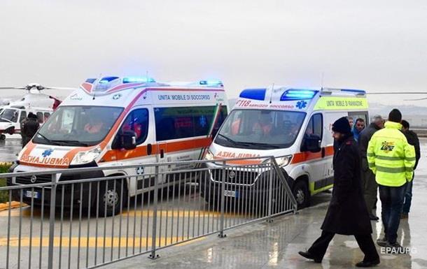 ВИталии разбился автобус сдетьми: размещены страшные фото