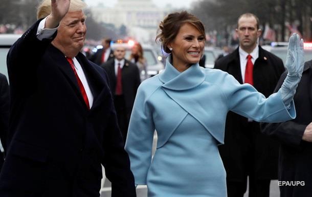 Трамп с женой прибыл вБелый дом
