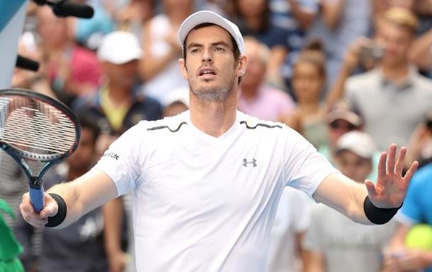 Australian Open. Маррей зачехлил ракетку в1