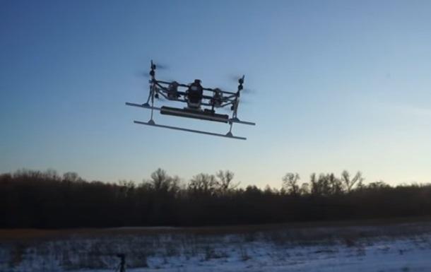 ВУкраинском государстве испытали дрон, вооруженный управляемой ракетой