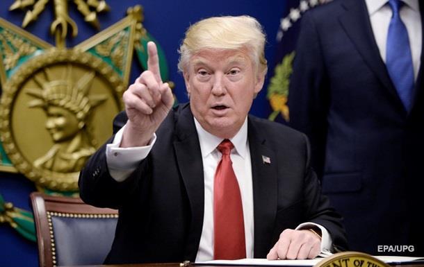 Трамп запретил своим депутатам лоббизм напротяжении 5-ти лет после отставки