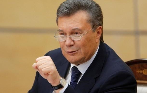 Генеральная прокуратура РФотказала вовручении подозрения Януковичу