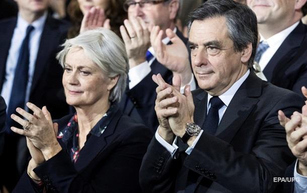 Французы потребовали от супруги Фийона вернуть деньги вказну