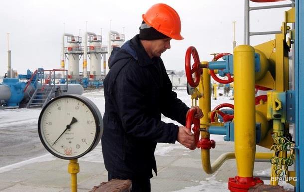 Украина увеличила импорт газа в январе